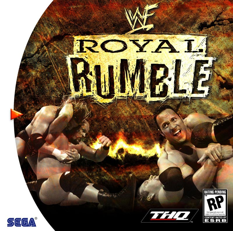 Roms Dreamcast + Emulador Royalrumble-box